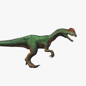 jurassic animal 3D model