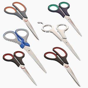3D Scissors Collection model
