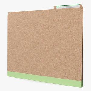 Paper File Folder 3D