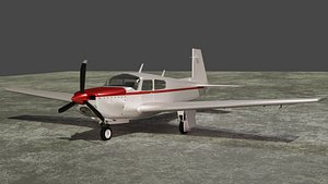 airplane plane aircraft 3D model