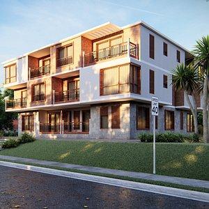 3D villa apartment