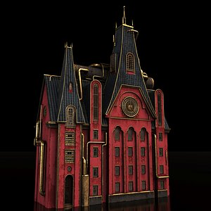 2K Old House 3D model