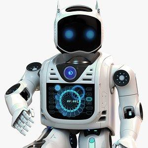 3D robot man
