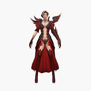 3D model Scarlet