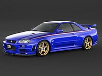Nissan Skyline GT-R R34 S-Tune
