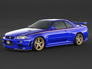 car nissan skyline r34 model