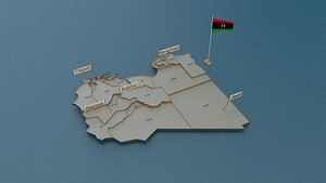 3D state cities capital model