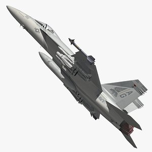 3D F18 VFA143 Pukin Dogs