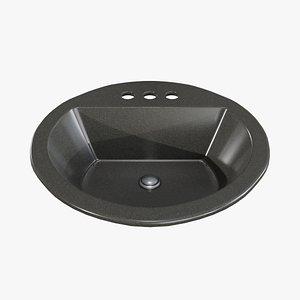 bathroom sink 3D