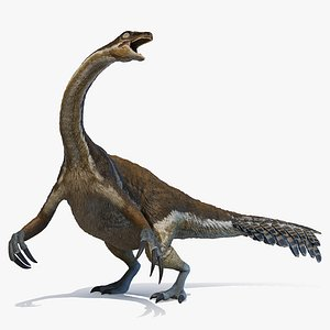3D Therizinosaurus Animated