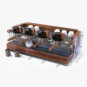 3D coffee machine