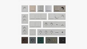 Schneider Electric Atlas Design Electric Furniture 3D model