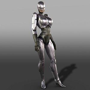 FemaleRobocop 3D model