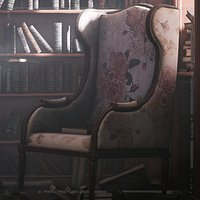 Old Library Asset pack