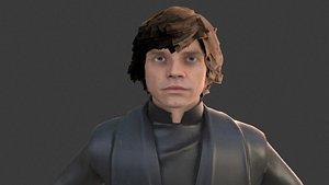 luke skywalker starwars - model