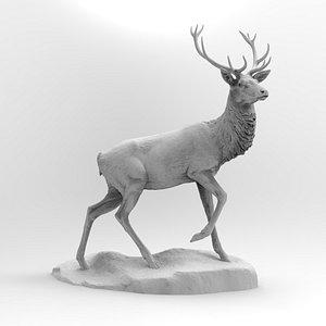 3D scan deer