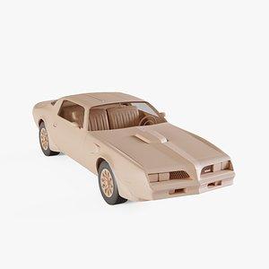1977 Pontiac Firebird Trans Am model