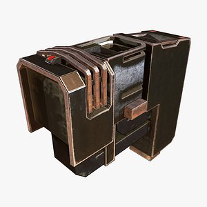 Energy Capacitor D 3D model