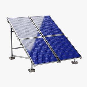 3D model Solar Panels 2