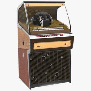 3D Full Size Vinyl Jukebox