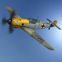 Messerschmitt - BF-109 E - Yellow 5