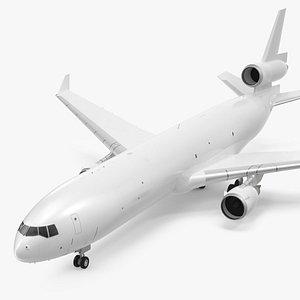 3D McDonnell Douglas MD11 Tri Jet Wide Body Airliner
