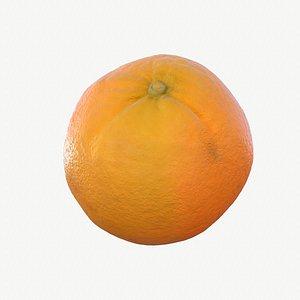 02 hy orange fruit 3D