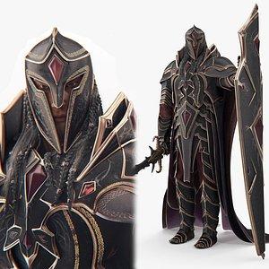 Fantasy  dark knight model