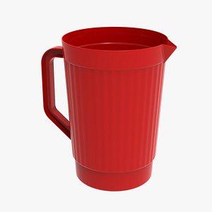 Plastic mug model