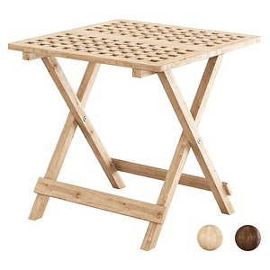 3D Outdoor Folding Side Table FB