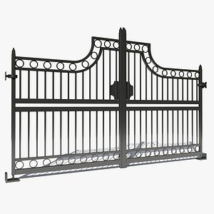 wrought iron 3D model