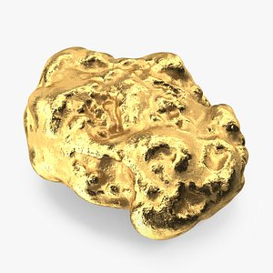 Gold Mineral 3D model