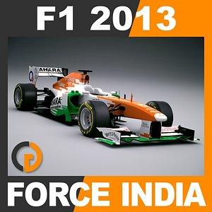 formula 1 2013 force obj