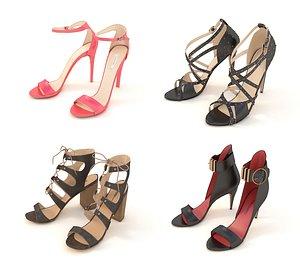 3D women shoe