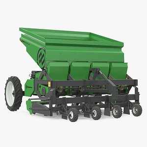 Miedema Structural 4000 Potato Planter Green Used 3D