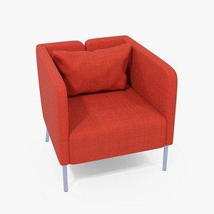 IKEA Ekero Armchair Sofa 3D model