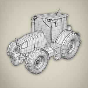 Tractor basemesh 3D