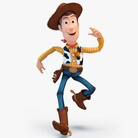 Sheriff Woody Rigged