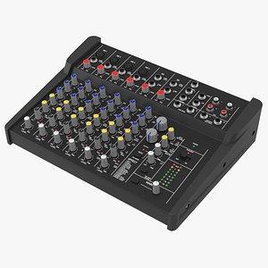3D studio mixer model