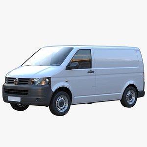 3D model transporter t5 van