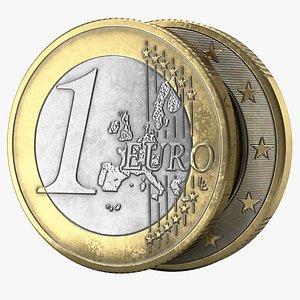 euro coin pbr model