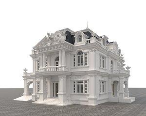 Classic Villa 4 3D