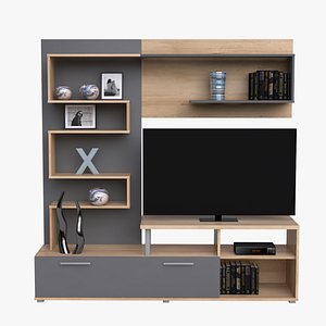 tv stand c4d free