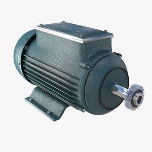 Elektric motor 3D model