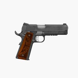 Pistol 1911 3D model
