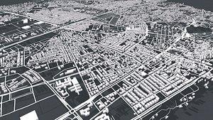 3D model Cityscape Antalia Turkey