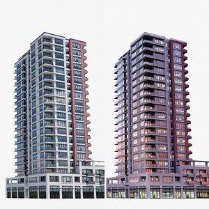 3D Vancouver Apartments V3 model