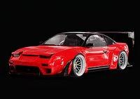 Widebody Nissan 240SX S13