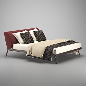 Ayrton bed, Cattelan Italia model