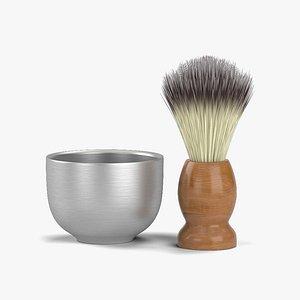 brush shaving 3D model
